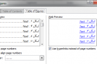 ترفند فهرست خودکار شکلها و جدولها در ورد