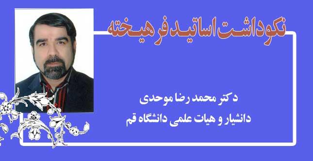 محمد رضا موحدی | معرفی استاد